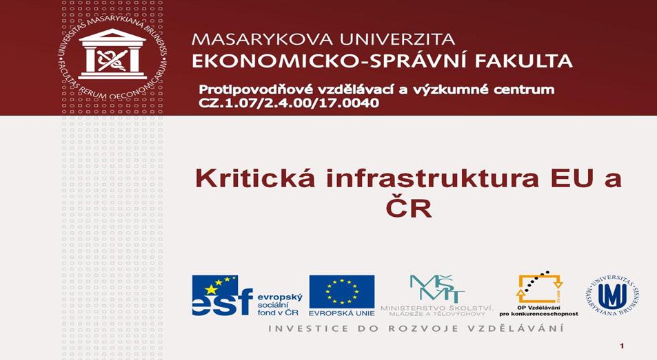 Prezentace Masarykova univerzita